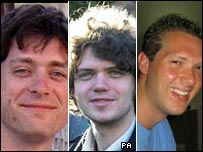 Chris Janaway, Jon Chandler and Matthew O'Donnell