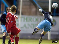Stirling Albion's Chris Aitken