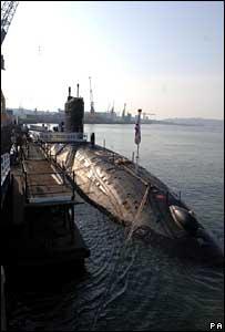 Plymouth's Devonport naval dockyard