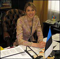 Urve Palo, Estonian population affairs minister