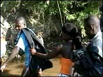 Zimbabwe border jumpers
