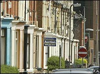 Terraced houses in Liverpool