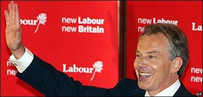 Tony Blair este jueves