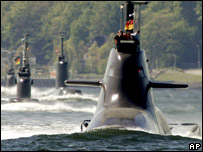 Submarines. Image: AP
