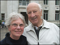Christine and Philip Syms