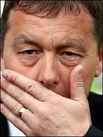 Derby County manager Billy Davies