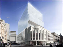 Artist's impression of the Odeon redevelopment