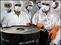 IAEA inspectors in Iran