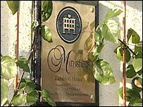 Minister's restaurant sign