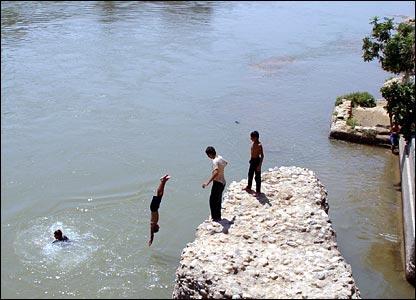 نهر خاصة في كركوك
