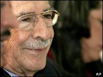 Efrain Rios Montt (file image)