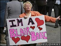 Blair supporter