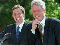 Tony Blair y Bill Clinton