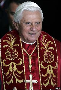 Pope Benedict XVI in Sao Paulo, Brazil
