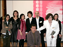 Iranian artists at the Meridian International Center, Washington