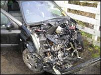 Paula Ceely's car