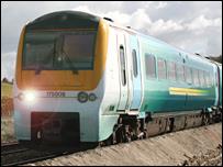 Arriva Trains Wales 175 train