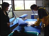 skilled textile worker, Shanghai