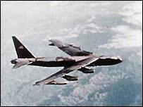B52 over Vietnam