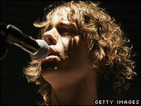 Johnny Borrell of Razorlight