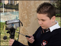 Kenny from Hackney Free and Parochial School in London makes a TV report