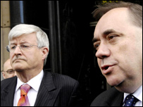 Robin Harper and Alex Salmond