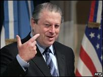 Al Gore en Buenos Aires