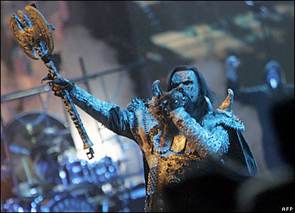 Last year's winners, Lordi