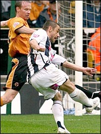 Kevin Phillips opened the scoring with a brilliant strike