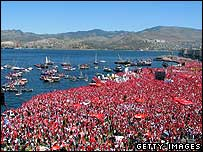 Rally in Izmir