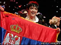Eurovision winner Marija Serifovic