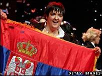 Eurovision winner Marija Serifovic