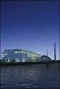 BBC Pacific Quay buildings
