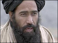 Mullah Dadullah - archive picture from interview with Al Jazeera