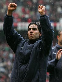 Tevez is triumphant after having the final word on relegation