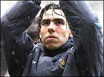 Carlos Tevez celebrates West Ham's survival