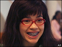 America Ferrera in Ugly Betty
