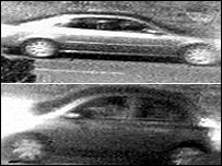 Two of the cars police want to trace