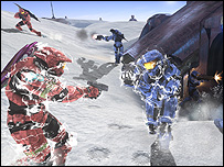 Halo 3 Snowbound map