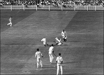 England face the West Indies in May 1957