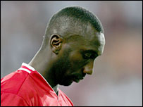 Charlton striker Jimmy Floyd Hasselbaink
