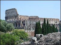Colosseum ruins