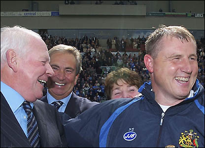 Jewell with Dave Whelan