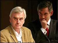 John McDonnell and Gordon Brown
