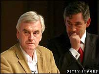 John McDonnell and Gordon Brown