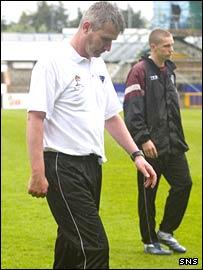 Dunfermline manager Stephen Kenny