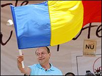 President Basescu in Craiova, 12 May 07