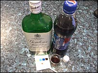 Police alcohol test (Pic: North Wales Police)