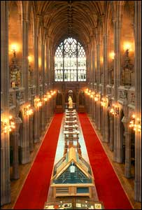 John Rylands Library - pic from MEN Syndication