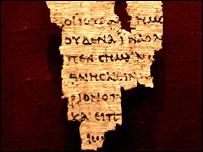 St John Fragment - pic from MEN Syndication